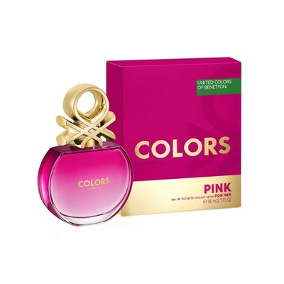 Benetton Colors for Her Pink dla kobiet 80ml