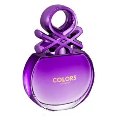 Benetton Colors for Her Purple dla kobiet 80 ml