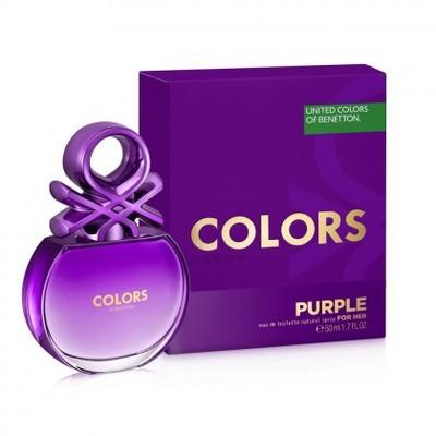 Benetton Colors for Her Purple dla kobiet 50ml