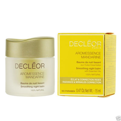 Decleor 15ml Aromessence Mandarine Smoothing Night Balm, balsam na noc