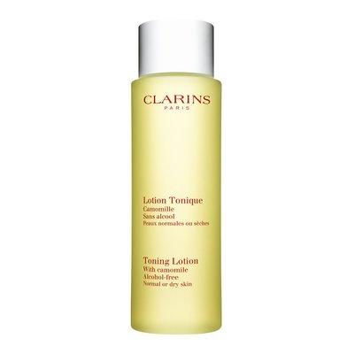 Clarins Cleansers pielęgnująca woda tonizująca z rumiankiem, bezalkocholowa  do cery normalnej i suchej,