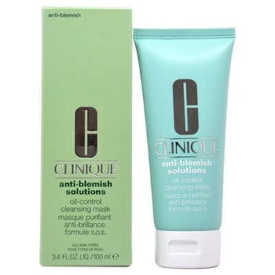 Clinique 100ml Anti-Blemish Solutions Mask, maseczka przeciw wypryskom  (All Skin)