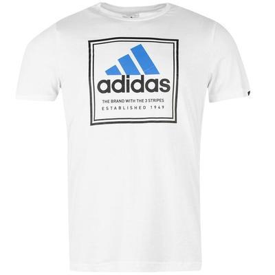 Adidas Roots Koszulka męska, biała, Rozmiar L