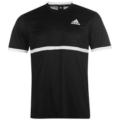Adidas Court Tennis Top Koszulka męska, czarna, Rozmiar  M