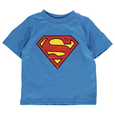 Character DC Comic Tee, koszulka dla chłopców - Superman, Rozmiar 5-6 lat