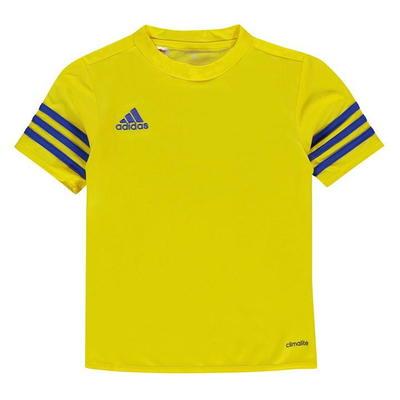 Adidas Entrada 14 Jersey, koszulka dla chłopców, żółta, Rozmiar 7-8 lat