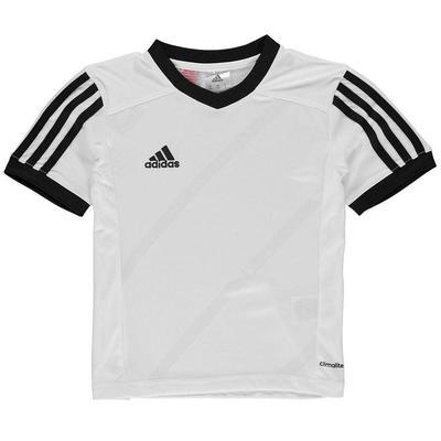 Adidas Tabe 14 Jersey, koszulka dla chłopców, biała, Rozmiar  5-6 lat