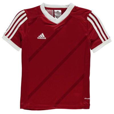 Adidas Tabe 14 Jersey koszulka dla chłopców, czerwona, Rozmiar 9-10 lat
