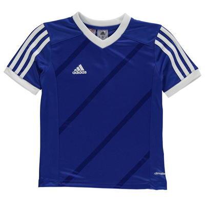 Adidas Tabe 14 Jersey Junior koszulka dla chłopców, niebieska, Rozmiar 13 lat