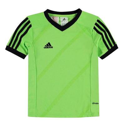 Adidas Tabe 14 Jersey, koszulka dla chłopców, zielona, Rozmiar 13 lat
