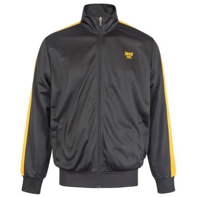 Tapout Zipped Track, kurtka dresowa męska, czarna, Rozmiar - M