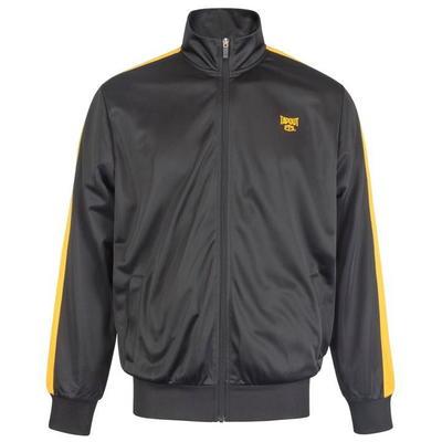Tapout Zipped Track, kurtka dresowa męska, czarna, Rozmiar - L