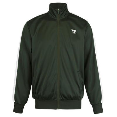 Tapout Zipped Track, kurtka dresowa męska, zielona, Rozmiar - S