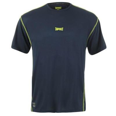 Tapout Active koszulka męska, granatowa, Rozmiar S