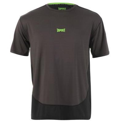 Tapout Two Tone koszulka męska, szara, Rozmiar XL