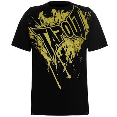 Tapout Logo Tee koszulka męska, czarna, Rozmiar S