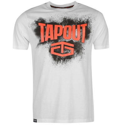 Tapout Placement koszulka męska, biała, Rozmiar L