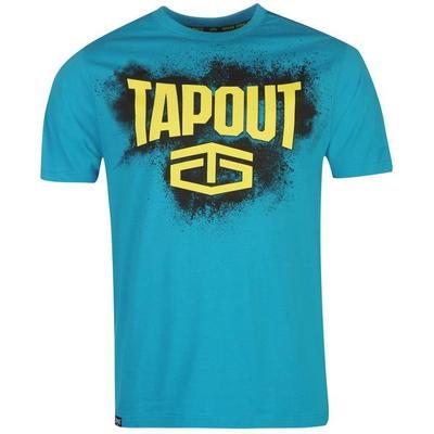 Tapout Placement koszulka męska, niebieska, Rozmiar S