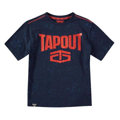 Tapout Power, koszulka dla chłopca, granatowa, Rozmiar 7-8 lat