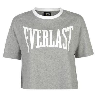 Everlast Boxy koszulka damska, szara, Rozmiar L