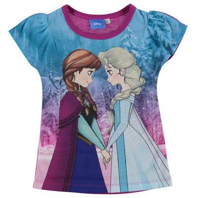 Character Sub koszulka dla dziewczynki, Disney Frozen, Rozmiar  7-8 lat