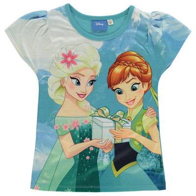 Character koszulka dla dziewczynki, Disney Frozen, Rozmiar 7-8 lat