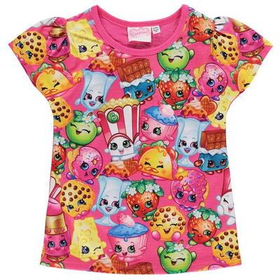 Character Shopkins koszulka dla dziewczynki, Rozmiar 5-6 lat