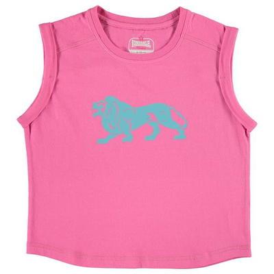 Lonsdale Boxy koszulka dla dziewczyny, różowa, Rozmiar 13 lat