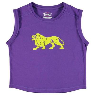 Lonsdale Boxy koszulka dla dziewczyny, fioletowa, Rozmiar 13 lat