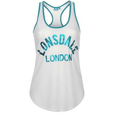 Lonsdale Logo koszulka damska, biała, Rozmiar XL