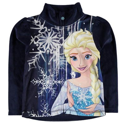 Bluza na zamek Character Disney Frozen, dla dziewczynki, Rozmiar 5-6 lat