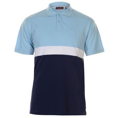 Pierre Cardin koszulka polo męska, niebiesko granatowa, Rozmiar M