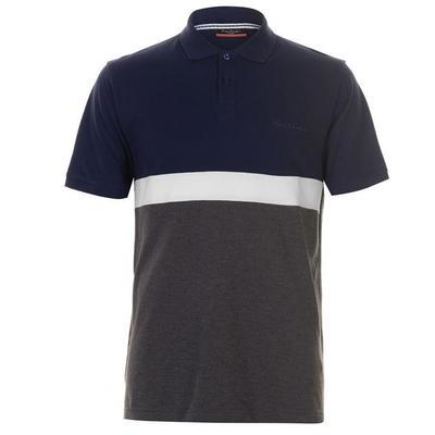 Pierre Cardin koszulka polo męska, granat - węgiel drzewny, Rozmiar XL