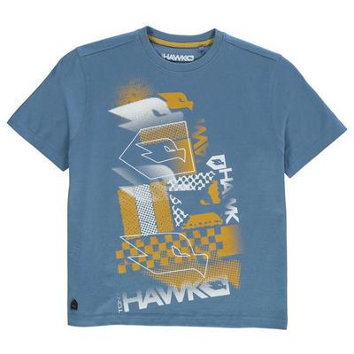 Tony Hawk Core koszulka dla chłopców, Niebieska, Rozmiar 7-8 lat