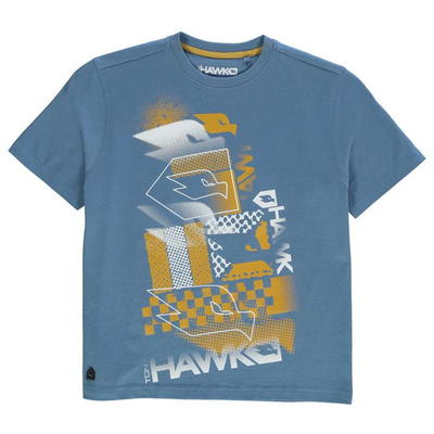 Tony Hawk Core koszulka dla chłopców, Niebieska, Rozmiar 13 lat