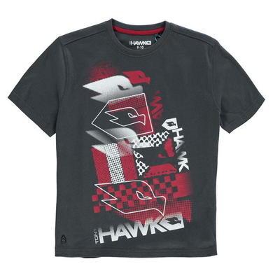 Tony Hawk Core koszulka dla chłopców, Węgiel drzewny, Rozmiar 13 lat