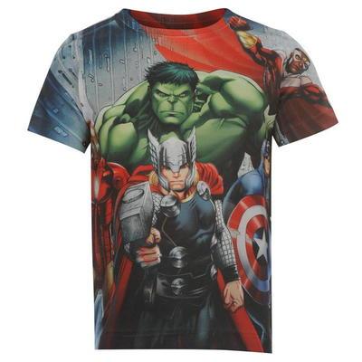 Marvel Sub koszulka dla chłopców, Avengers, Rozmiar 9-10 lat