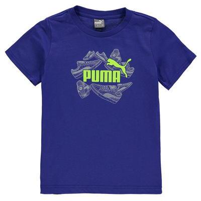Puma Trainer QTT koszulka dla chłopca, królewska, Rozmiar 7-8 lat