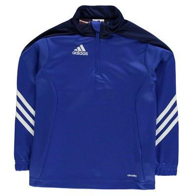 Adidas Sere 14 Zip bluza dla chłopca, ciemnoniebieska, Rozmiar 5-6 lat
