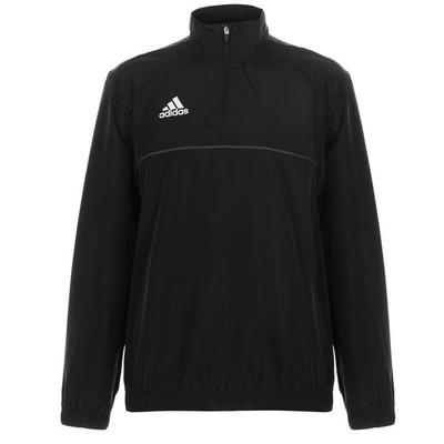 Adidas Football Zip bluza dresowa, czarna, Rozmiar M