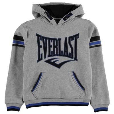 Everlast Large Logo OTH Hoody, bluza dla chłopców, szara, Rozmiar 9-10 lat