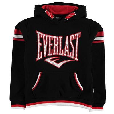 Everlast Large Logo OTH Hoody, bluza dla chłopców, czarna, Rozmiar 13 lat