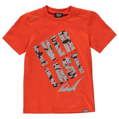 Everlast T Shirt, koszulka dla chłopców, czerwona, Rozmiar 7-8 lat