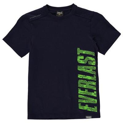 Everlast T Shirt, koszulka dla chłopców, granatowa, Rozmiar 7-8 lat