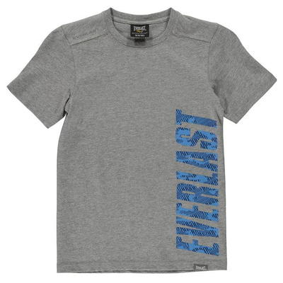 Everlast T Shirt, koszulka dla chłopców, szara, Rozmiar 13 lat