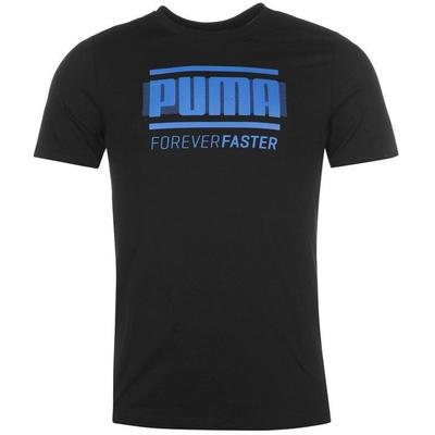 Puma Retro koszulka męska, czarna, Rozmiar L