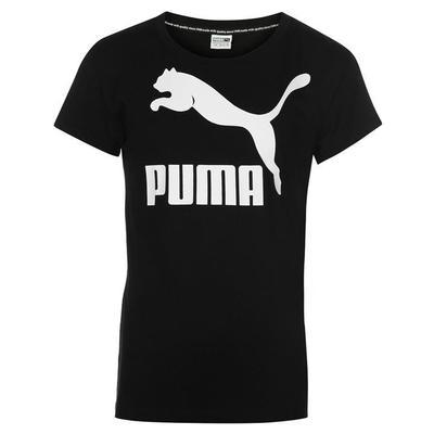 Puma Archive Logo, koszulka damska, czarna, Rozmiar 13-14 lat