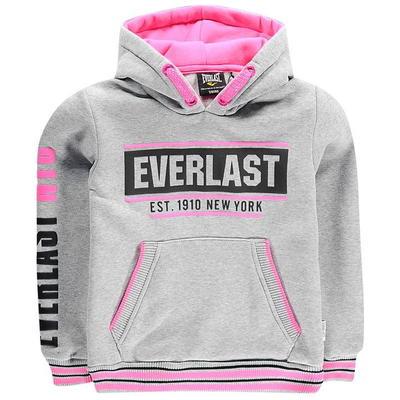 Everlast Hoodie, bluza dla dziewczynek, różowa, Rozmiar 7-8 lat