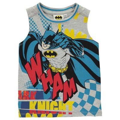 Koszulka bez rękawów dla chłopców, Character Batman, Rozmiar 5-6 lat