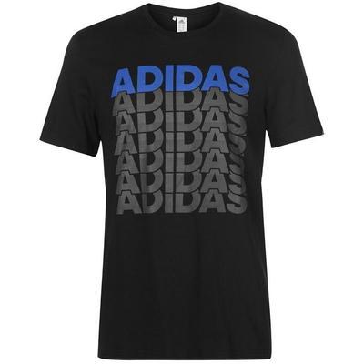 Adidas Repeated Linear, czarna, Rozmiar S